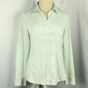 Banana Republic Fitted Pastel Button Down Shirt